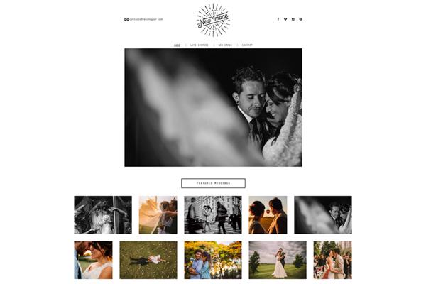 website responsive de New Image Photo & Film realizado por La Vuelta Web
