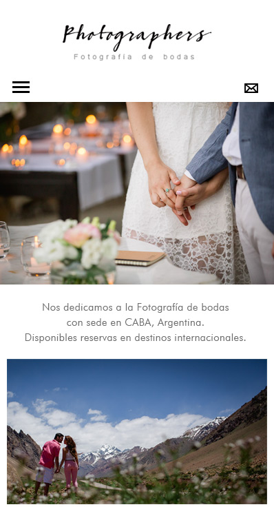 Responsive web design photography La Vuelta Web