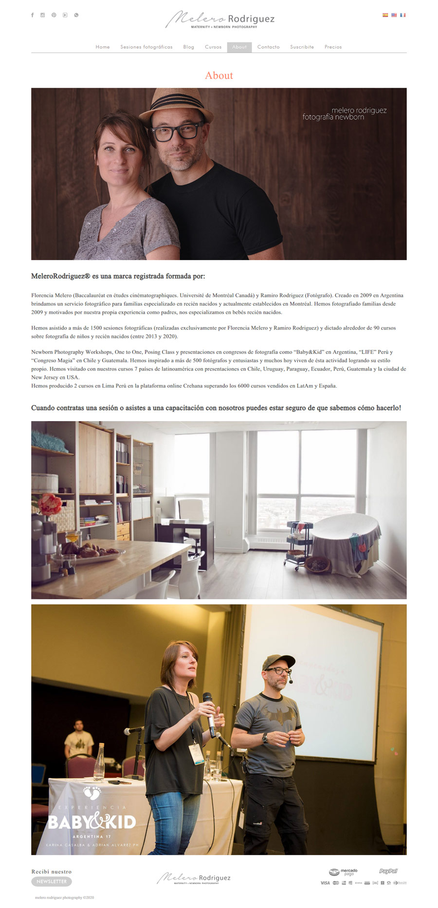 About web MeleroRodriguez® Photography development lavueltaweb