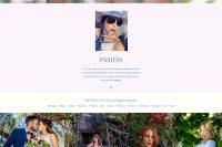 Web realizada por lavueltaweb para la fotógrafa Paty de Leon