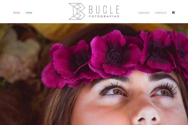 Home web Bucle Fotografía realizada por La Vuelta Web