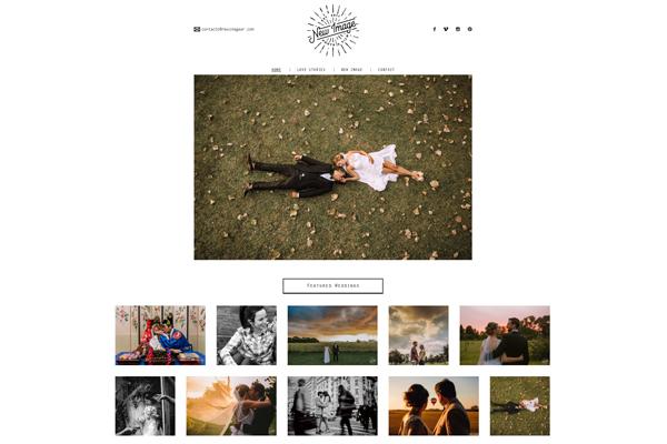 Portada website responsive de New Image Photo & Film realizado por La Vuelta Web