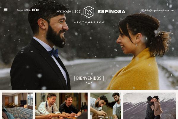 Portada web de Rogelio Espinosa Fotografía diseñada y desarrollada por lavueltaweb