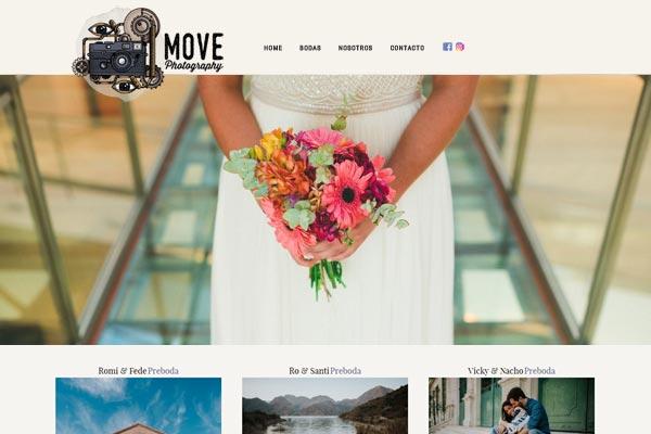 Web de fotografía para profesionales de San Juan desarrollado por La Vuelta Web