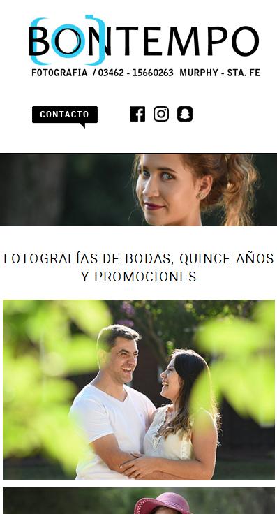 Versión web iPhone, página web adaptable a dispositivos móviles La Vuelta Web