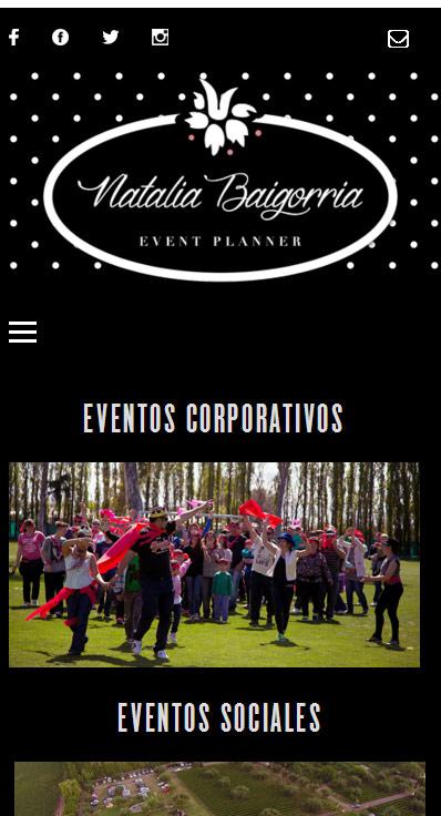 Web responsive, adaptable a móviles, para profesionales por La Vuelta Web