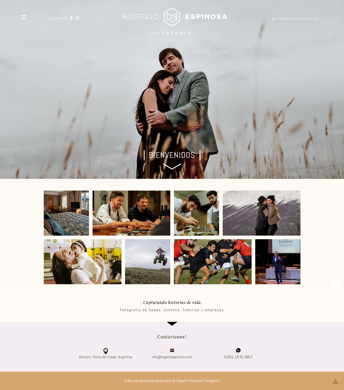 Web de Rogelio Espinosa Fotografía diseñada y desarrollada por lavueltaweb